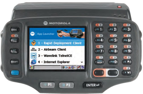 Motorola Wearable Terminal